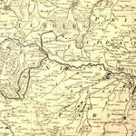 Kartenausschnitt 1747 Patschkau und Neuhaus bei Neisse