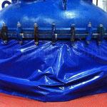Защитный чехол из ткани ПВХ на оборудование