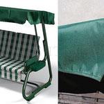 Чехол-крыша для садовой качели из ткани с ПВХ покрытием