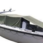 Тент брезентовый на лодку