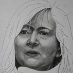 Rosemarie Trockel (2012, Bleistift/Papier, 30x42 cm)