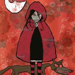 La fille au chaperon rouge