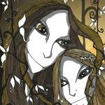 La fille et sa mère