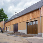 Umbau Mühlengebäude zum Kommunalen Bauhof Clausnitz (2004/2005)