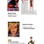 Marie-Claire      Dépêche Mode