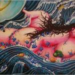 讃岐の海女(1995年) P120号