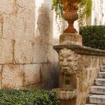Treppe zum Königspalast