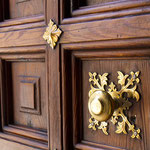 Detail einer Kirchentür
