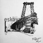 wiliamsburg bridge brooklyn - new york | 2000