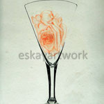 rose in a glass | 1996