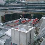 MFH Buochserstrasse 48 Beckenried - Wände in der Tiefgarage