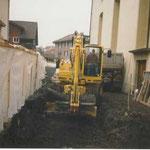 Sanierung Friedhof Beckenried 2