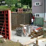 Anbau Atelier Skalsky Seelisberg - Wände in Beton