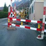 Werkleitungen Rütenenstrasse Beckenried - In zusammenarbeit mit dem Gemeindewerk Beckenried