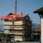 Abbruch Buochserstrasse 48 - Sanfter Abbruch und direkte Sortierung der Materialien auf der Baustelle