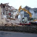 Abbruch Wohnhaus Ming-Murer Allmendstrasse Beckenried