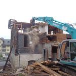 Abbruch Wohnhaus Würsch-Käslin Kirchweg Beckenried