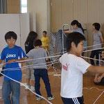 200mのロープって、何回折り返したら10mになるのかな?