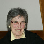 Karin unsere fröhliche, vorzügliche aber auch strenge Dirigentin