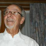 Hansruedi beim Verlesen des Jahresberichts