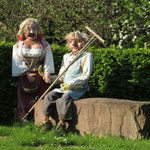 Beim Gartenbauverein: Leute mit Humor sind angenehme Zeitgenossen.