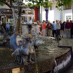 Elwetritsche-Brunnen in Neustadt (Prof. Rumpf - 1978) - Foto P. Welker