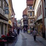 """In der """"Hauptstraße"""" von Neustadt - Foto P. Welker"""