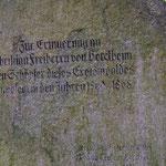 Der Familie von Berckheim sei Dank!  (Foto: PeWe)