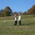 Im Zwiegespräch: Gertraude und Gerhard