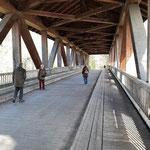 Holzbrücke zur Insel - Foto Ingo Pedal