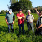 Herr Budig informiert: gutes Verhältnis zwischen dem Schützen Jäger und den Schützern der Natur