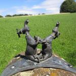 Auf dem Skulpturenweg - Foto: Ingo Pedal