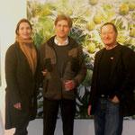 Mag. Elvira Egger & Egger Martin und der Galerist