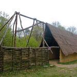 La maison néolithique.