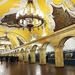 La station Komsomolskaïa