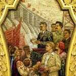 Mosaïque dans la station Komsomolskaïa