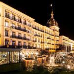 Victoria Jungfrau Interlaken 5 Sterne Hotel hat 2 von unseren Olympischen Feuerschalen aus Edelstahl