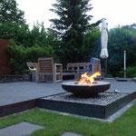 Olympische Feuerschale Edelstahl/Stahl 80cm
