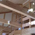無垢材,木の家,角地の家