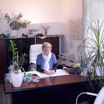 Frau Lange in der Fahrschule Weißenfels