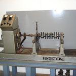 Krukas en aandrijfas balanceer machine