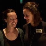Manon Haase und Verena Regenburger