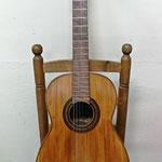 Guitarra construida por Telesforo Julve durante el período de 1945-1957, y que tan extendido estuvo por toda la Huerta de Murcia.