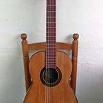 Guitarra de Telesforo Julve construida entre los años 1934-1944.