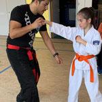 Kickboxing mit Miguel Pelaez (5. Dan Kickboxen, mehrfacher Schweizer Meister) - Mai 2019