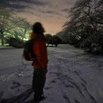 2009 雪の多摩湖撮影