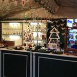 Die 'Glashütte' auf dem Centro Weihnachtsmarkt Oberhausen