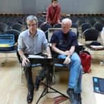 Kerham répétition Yves et Christophe