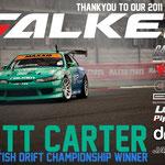 Falke Drift Team mit Pipercrossfilter
