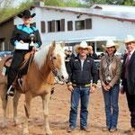 Amateur / Open Western Horsemanship Gewinnerin Christina Stelzer auf Nabucco